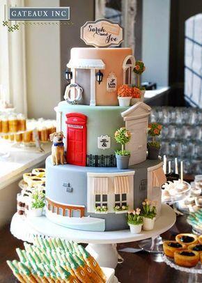 Beautiful Cake Pictures: Cake of Doors Wedding Cake - Colorful Cakes, Themed Cakes, Wedding Cakes -