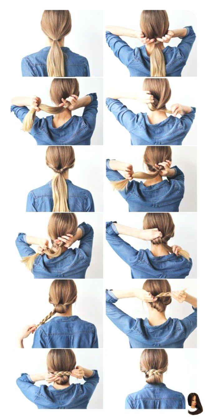 Bun #bun Hairstyle #Easy #Frisuren #Ihre
