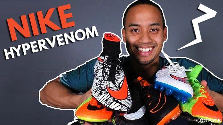 L'évolution de la Nike Hypervenom  Dans ce nouvel épisode de Footpack TV, Fred explique l'évolution du silo Hypervenom de Nike, lancé sur le marché en 2013.  En savoir plus s...