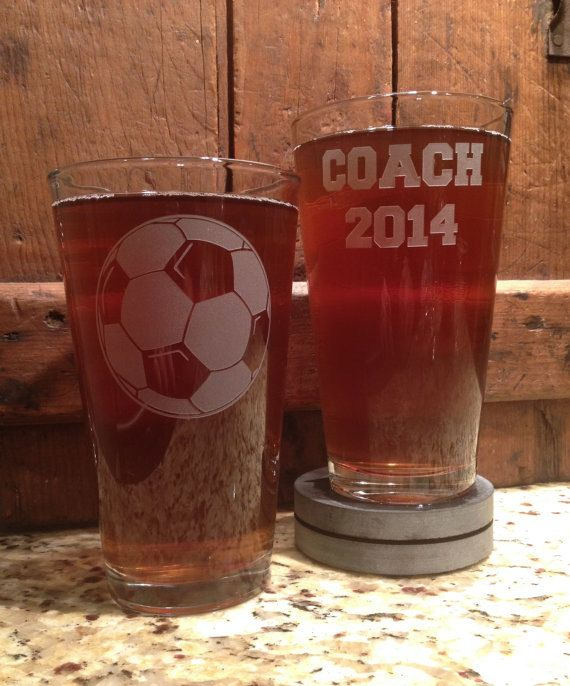 Soccer coach gifts Soccer ball soccer coach by VitalSignandApparel