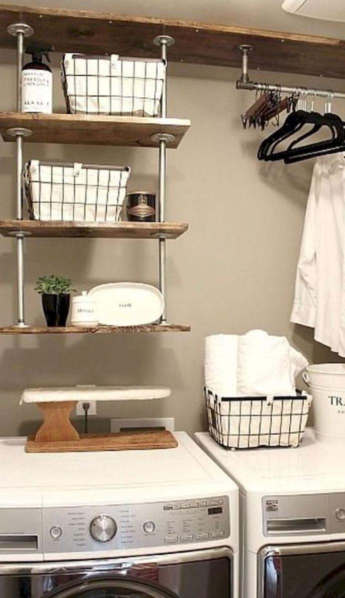 Rustic Laundry Room Decor Ideas (44)