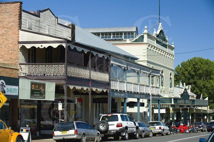 Main Street of Bellingen NSW | Owen Wilson Photography