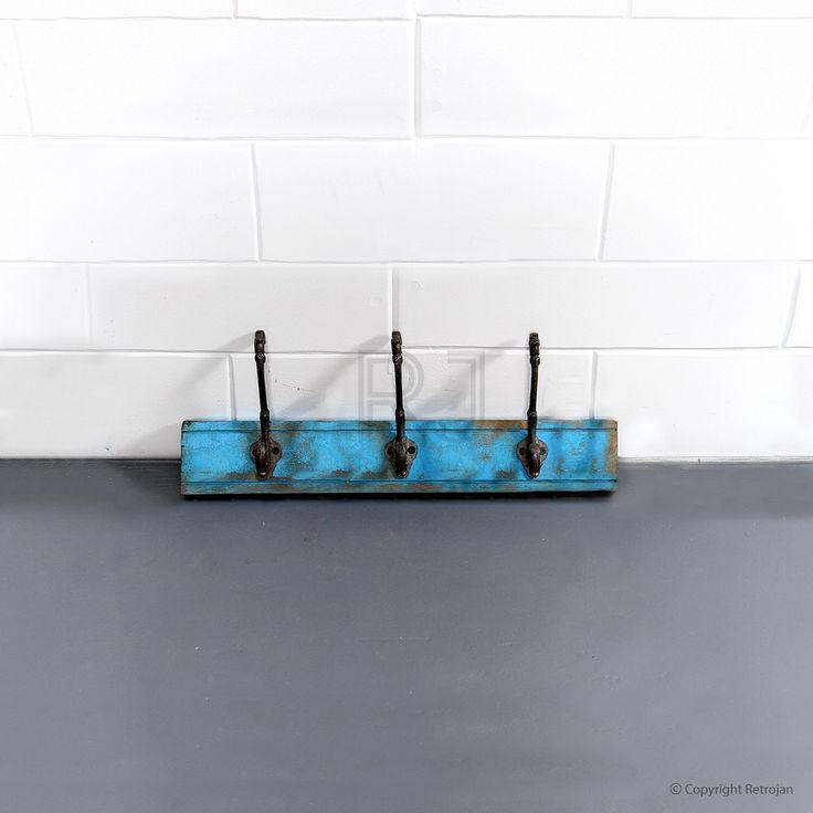 Jesse - 3 Hook - Rack (Blue) | $39.00