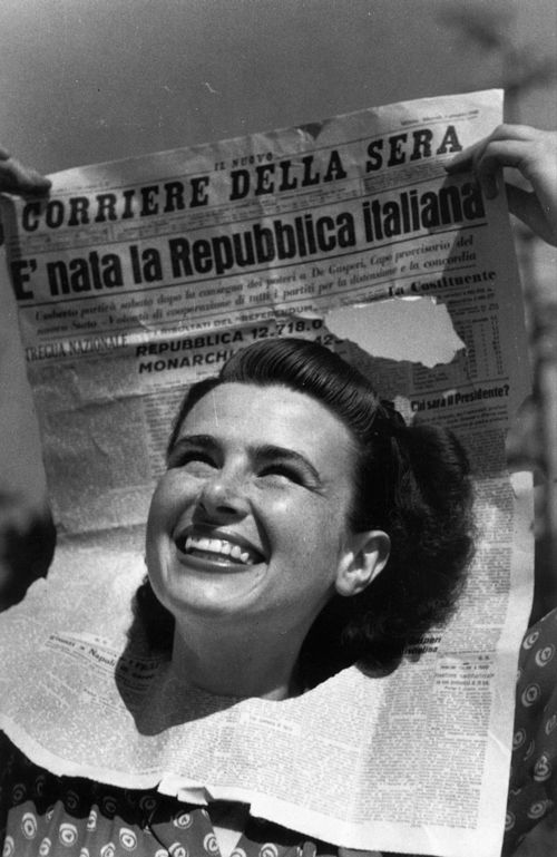 2 giugno 1946: nasce la Repubblica Italiana