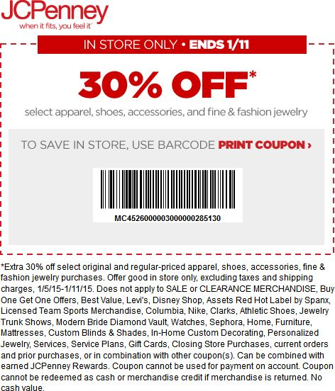 466 best coupon code images on pinterest app apps and armour jcpenney coupon jcpenney promo code from the coupons app off at jcpenney january fandeluxe Gallery