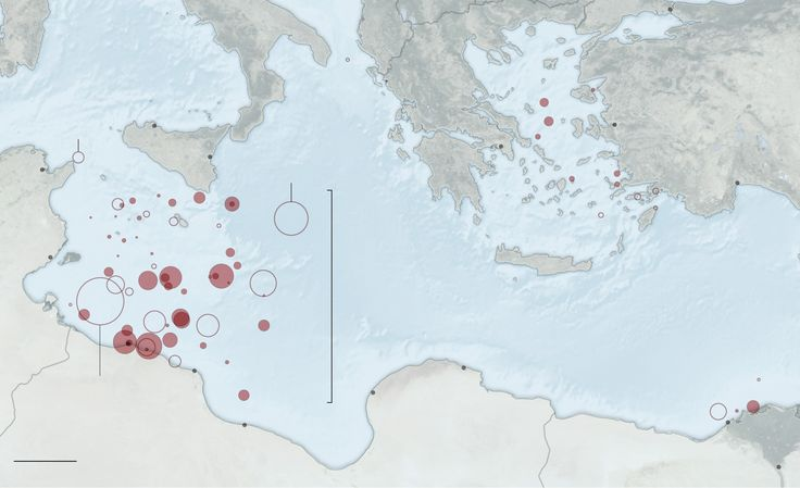 What's Behind the Surge in Refugees Crossing the Mediterranean Sea - NYTimes.com