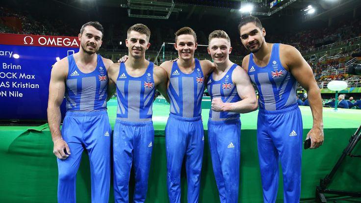 Team GB's Men's Gymnasts