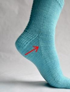 Chaussettes sur mesure #chaussettes #explications