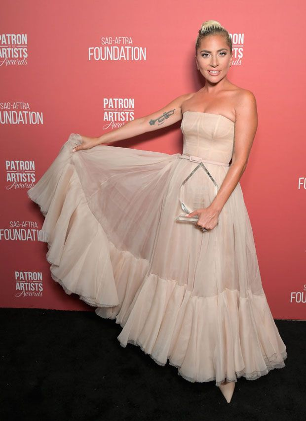 3f9e774699a  LadyGaga in  ChristianDior  Couture - SAG-AFTRA Foundation s 3rd Annual  Patron of the Artists Awards