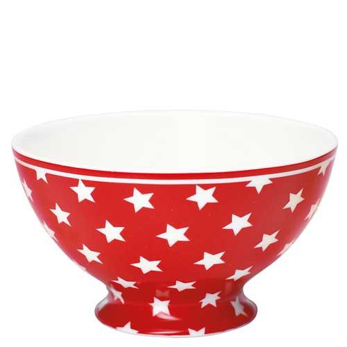 Greengate tazza per cereali Collezione Star rossa WORLDWIDE SHIPPING SHOP NOW http://shop.fillyourhomewithlove.com/greengate-tazza-per-cereali-collezione-star-rossa.html