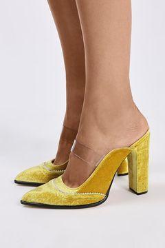 **VALIANT Mule Pointed Court Shoes by Unique