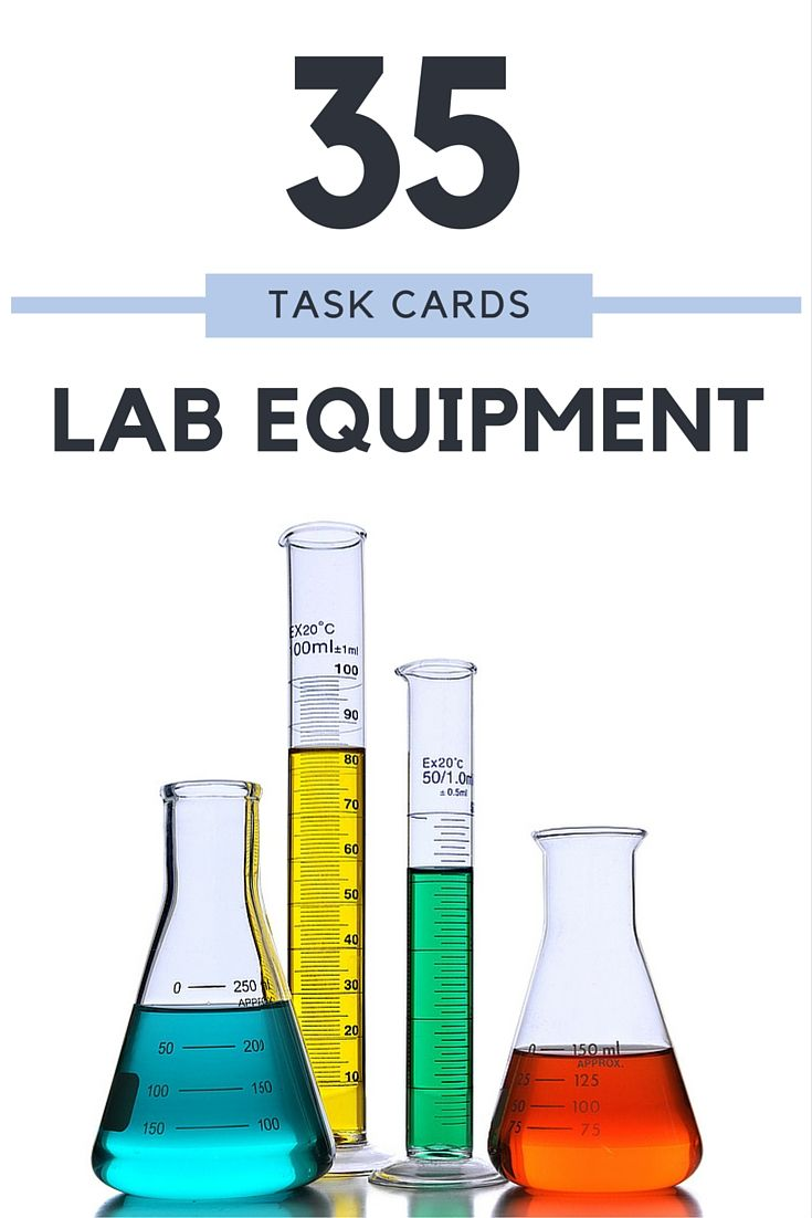 Your Biology students will learn the names and functions of common lab equipment and have fun doing it! This product includes Lab Equipment Task Cards in PowerPoint format PLUS a PowerPoint Review with all the answers to share with your students!
