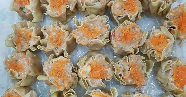 Resep Siomay Babi/ayam udang favorit.
