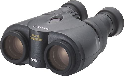 Canon - 8 x 25 IS Image Stabilized Binoculars - Black
