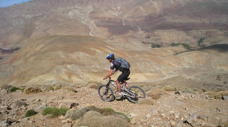 Experience Morocco on a maintain bike, cross the mountains passes and pass through the isolated Berber villages on an amazing cycling tour across the high Atlas mountains and through the famous Dades gorge.