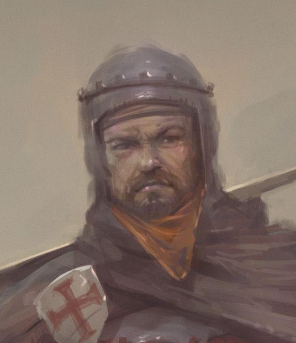 ArtStation - Spanish Medieval Knight (1060 anno Domini), Jaime Martinez