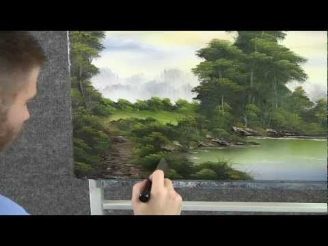 ▶ Paint with Kevin Hill - Morning by the Lake - YouTube