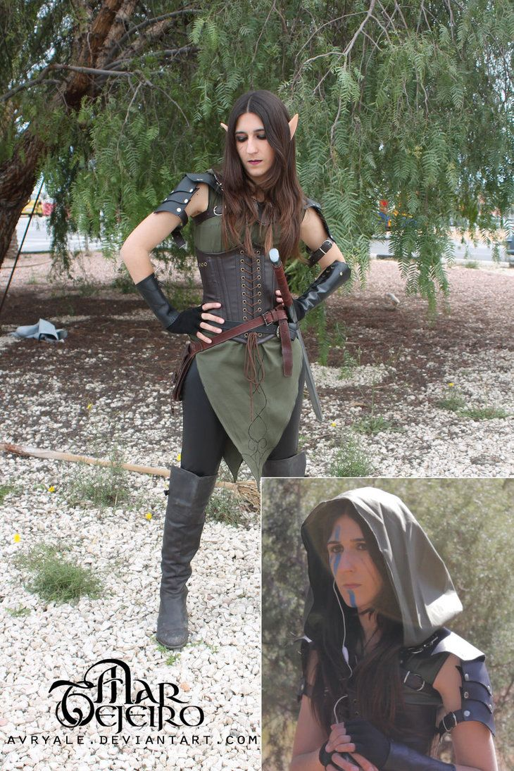 Avryale - LARP Elf Ranger costume by ~Avryale on deviantART