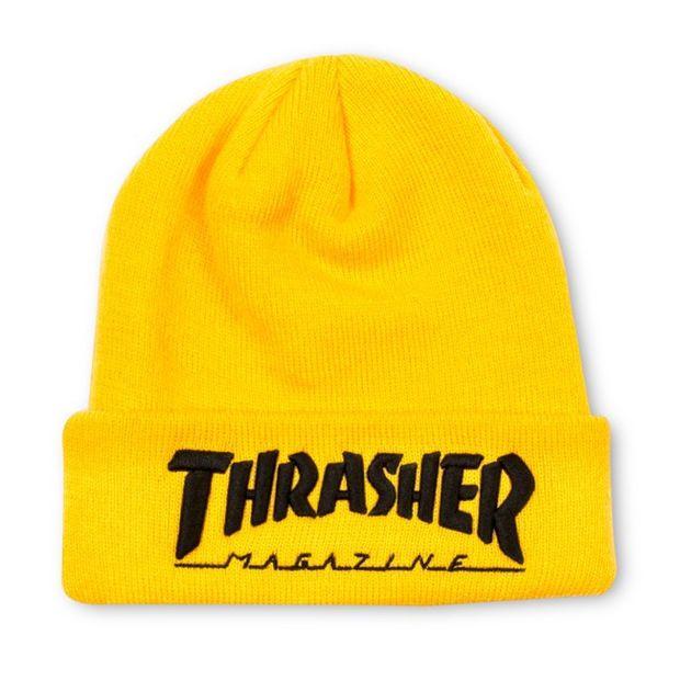 Thrasher Magazine Yellow Beanie