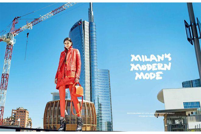 スポーティスタイルの新解釈。【VOGUE JAPAN 8月号 FASHION STORY】|ファッション(流行・モード)|VOGUE JAPAN