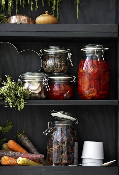 Forget your freezer and preserve food by pickling it in jars.