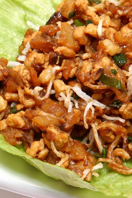 Asian chicken, Asian chicken lettuce wraps and Chicken lettuce wraps ...
