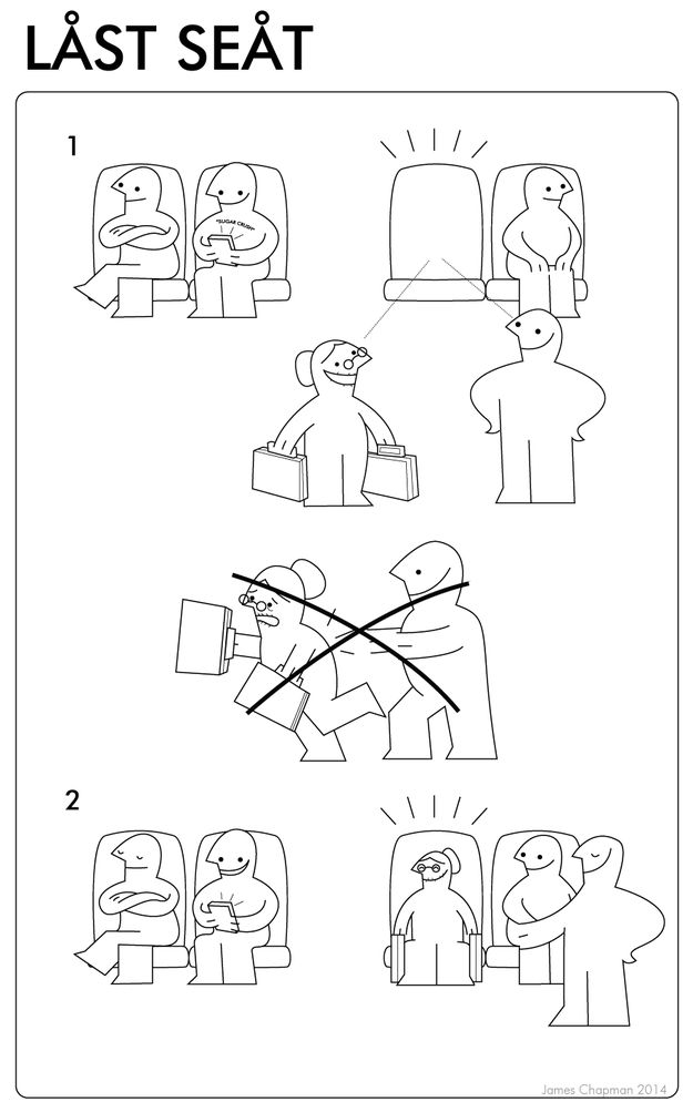 Funny IKEA Instructions Showing the Dos and Don'ts of