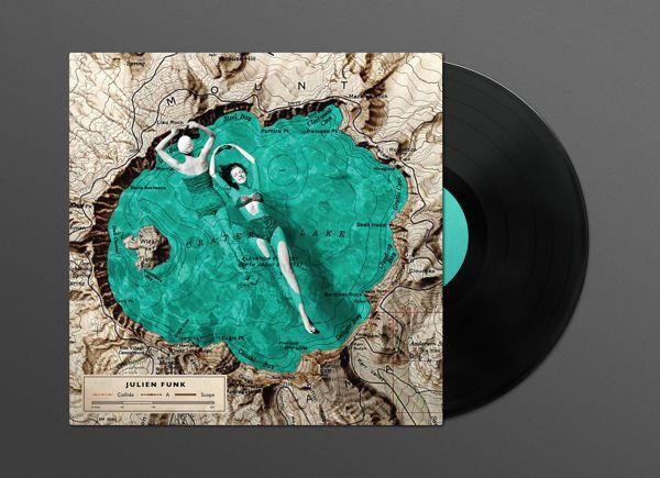 Julien Funk Album Artwork by Guts & Glory, via Behance