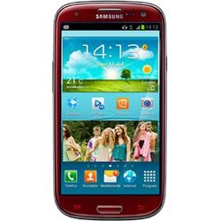 Samsung Galaxy S III - now in red.