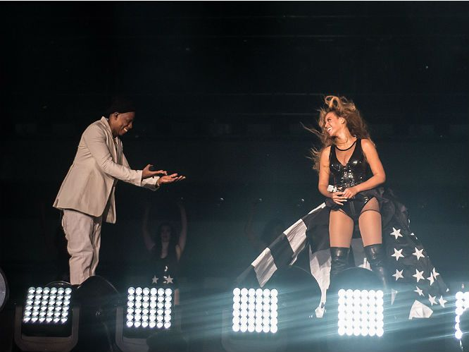 Photos from the first night of Jay Z and Beyonce's On The Run tour | Gigwise
