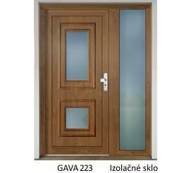 GAVA 223 Golden Oak vstupné dvere