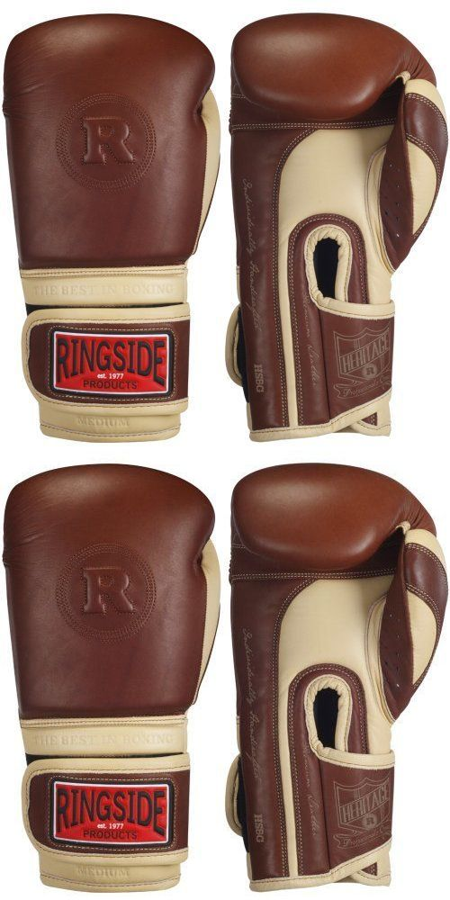 Other Combat Sport Clothing 73988: Heritage Leather Top Quality Boxing Kickboxing Muay Thai Training Gloves Sparrin -> BUY IT NOW ONLY: $175.27 on eBay!
