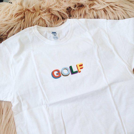 f31491ec8487 GOLF T-shirt Tyler The Creator T-shirt Earl Sweatshirt T-shirt OFWGKTA Golf  Wang T-shirt Skate shirt