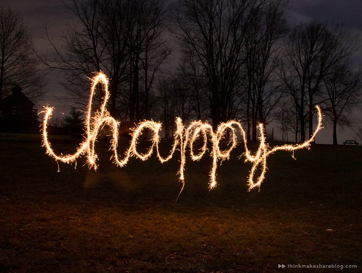How to write with sparklers: An easy photography tutorial - Think.Make.Share.