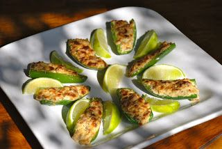 Chorizo-Stuffed Jalapeños | Kelly's Life is Delicious | Pinterest