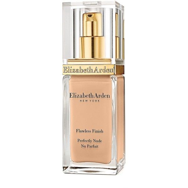 Elizabeth Arden Flawless Finish Perfectly Nude Makeup Broad Spectrum... ($39) ❤ liked on Polyvore featuring beauty products, makeup, face makeup, foundation, fillers, buff, elizabeth arden foundation, sunscreen foundation, elizabeth arden and spf foundation