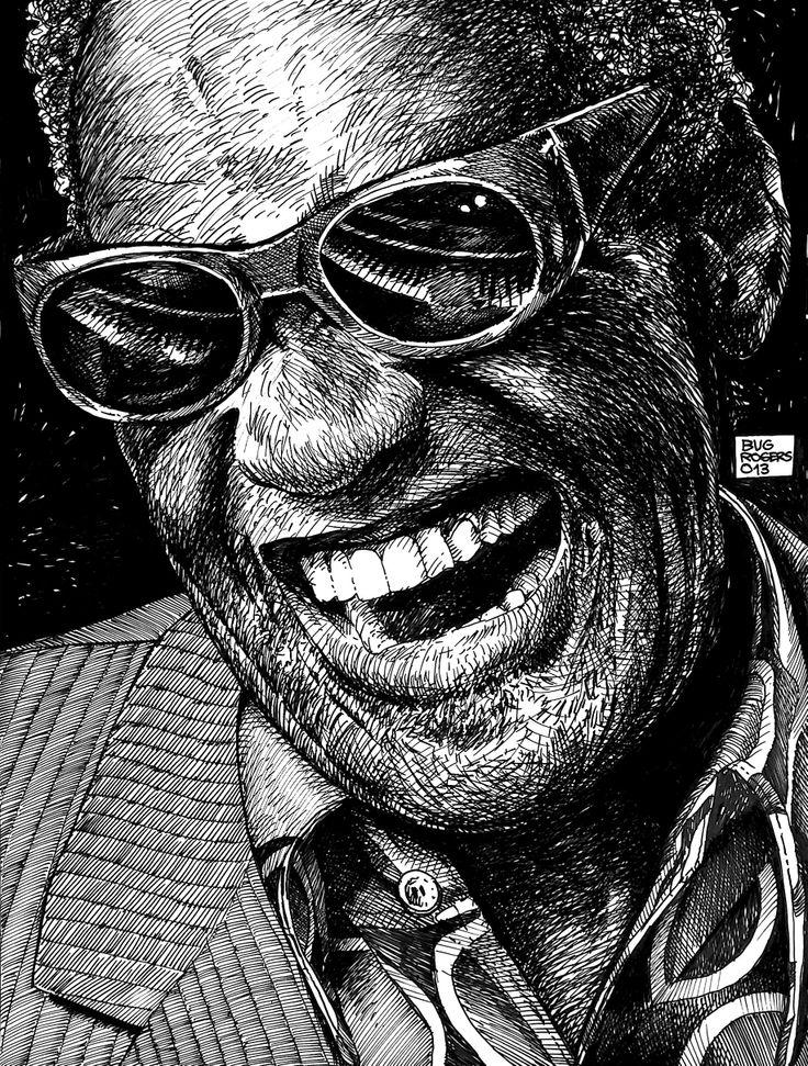 Ray Charles tribute by EnricBug