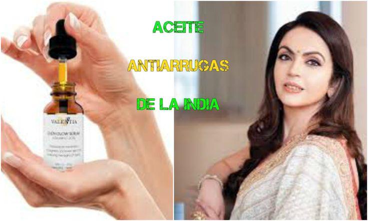 Aceite MILAGROSO ANTI ARRUGAS - RECETA HINDU