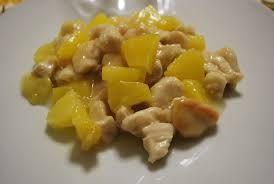 pollo ananas