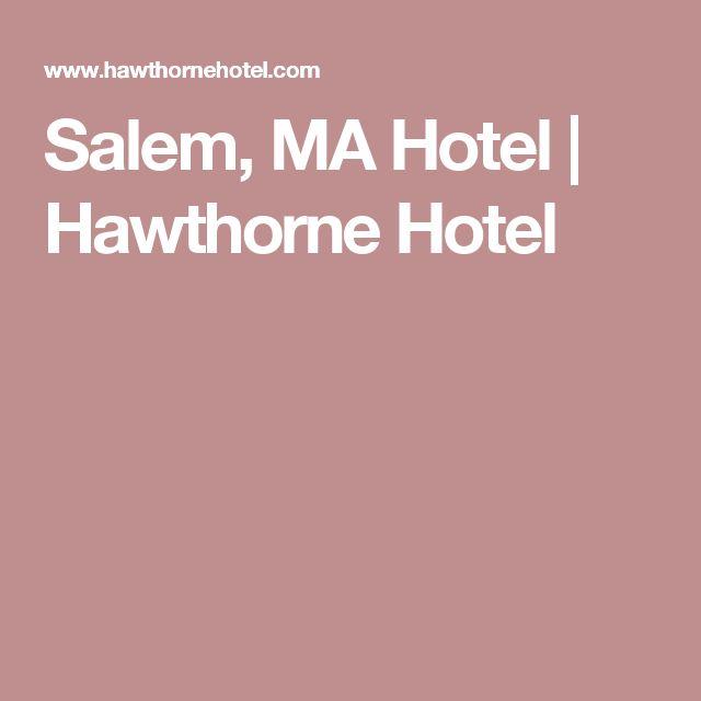 Salem, MA Hotel   Hawthorne Hotel