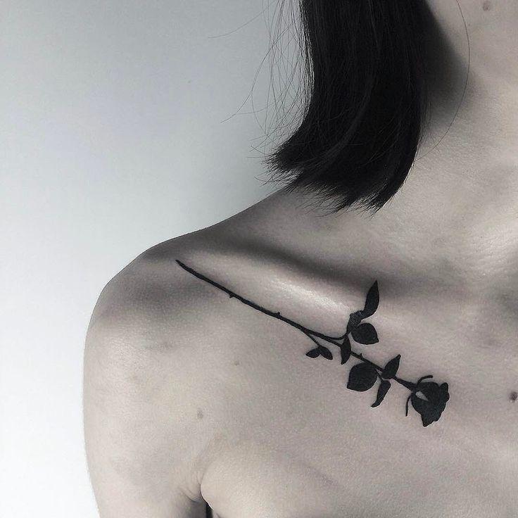 """3,103 likerklikk, 18 kommentarer – KINA SHEN (@kinashen) på Instagram: """"Found this black rose for you. #tumblr"""""""