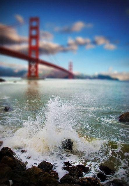 Cool pic of San Fran: San Francisco California, San Francisco Hotels, Awesome Pictures, San Francisco Bays, Golden Gates Bridges, The Bays, Sanfrancisco, Travel Tips, The Bridges
