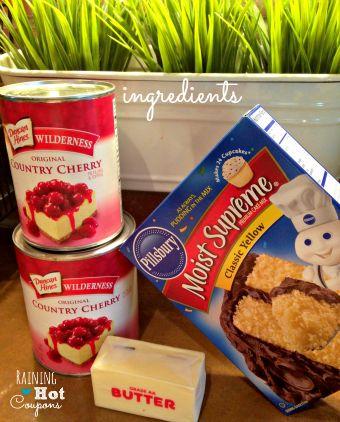 Cherry Pie in the Crock Pot Recipe - Only 3 ingredients