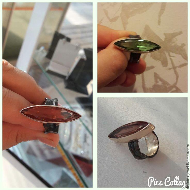 Купить Кольцо из серебра с султанитом в-османском стиле - разноцветный, султанит, кольцо с султанитом, купить с султанитом