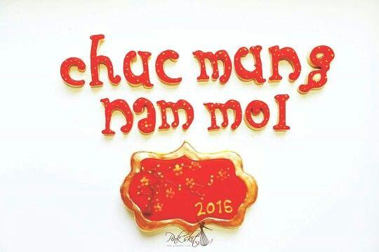 Happy Vietnam new year . Chúc mưng năm mới 2016