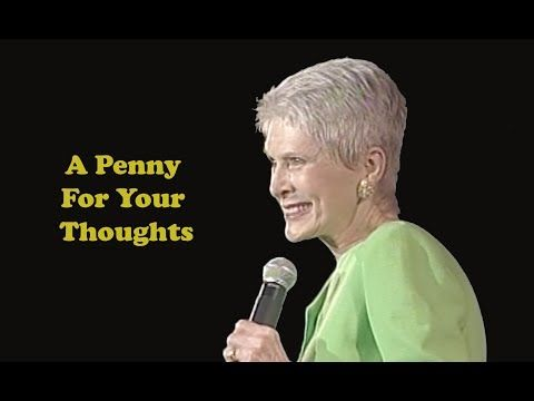 Jeanne Robertson | A Penny For Your Thoughts : Video Clips From The Coolest One