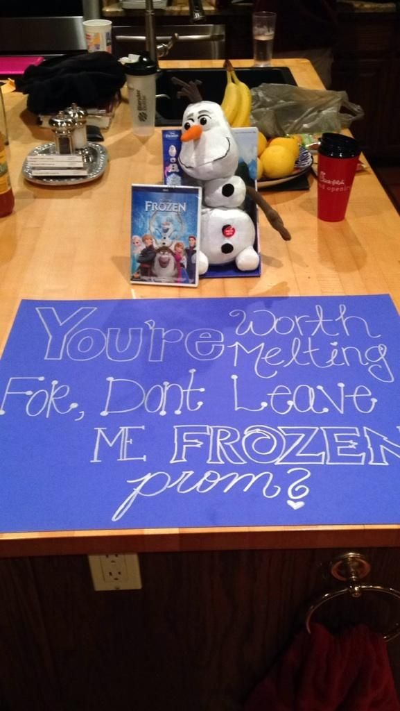 How to ask a date to prom