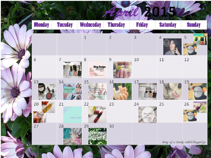 April Summary {2015}