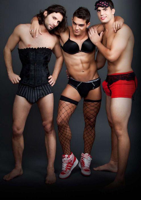 Men wearing men's and women's underwear | People and Gender ...