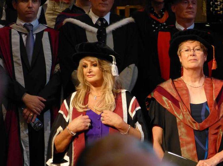 #BonnieTyler #SwanseaUniversity #HonoraryDegree